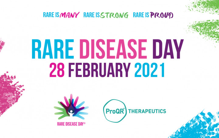 ProQR supports Rare Disease Day, 28 February 2021 - rare is many, rare is strong, rare is proud